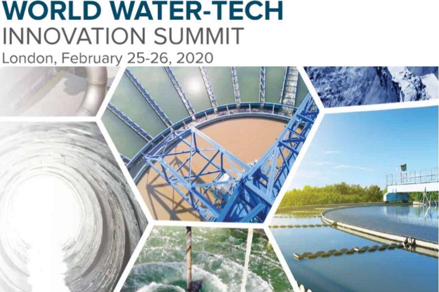 Cumbre Mundial de Innovación en Tecnología del Agua el 25 y 26 de febrero